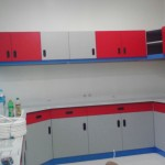 Wall Bech With Hanging Cabinet