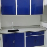Wall Bench with Hanging Cabinet