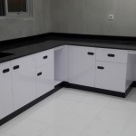 Wall Bench L Type with Granite Table top